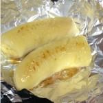 想定外のおいしさ! 焼きバナナ。