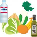 腸が元気になる食材は、水分・食物繊維・良質の油。